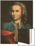 Johann Sebastian Bach Wood Print by Johann Ernst Reutsch