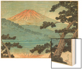 Mount Fuji Wood Print by Kawase Hasui