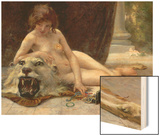 The Jewel Case Wood Print by Guillaume Seignac