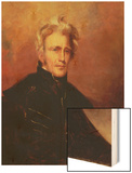 Portrait of Andrew Jackson, 1858 Wood Print by Thomas Sully