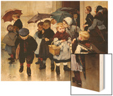 Leaving the Class, 1888 Posters by Jules Jean Geoffroy