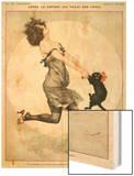 La Vie Parisienne, C Herouard, 1923, France Wood Print