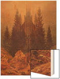 The Cross in the Mountains, 1812 Wood Print by Caspar David Friedrich