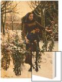 Last Flowers, 1890 Posters by Jules Breton