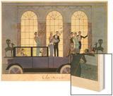 Farewell  Engraved by Henri Reidel  1920 (Litho)