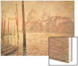 View of Venice, 1908 Wood Print by Monet Claude