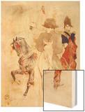 Napoleon I, Emperor Wood Print by Henri de Toulouse-Lautrec