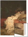 Sarah Bernhardt 1876 Wood Print by Georges Clairin