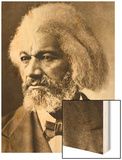 Frederick Douglass Wood Print by Mathew Brady