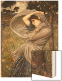 Boreas, 1903 Poster by John William Waterhouse