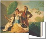 The Parasol, 1777 Prints by Francisco de Goya