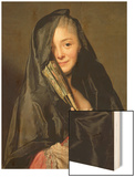 The Lady with the Veil (The Artist's Wife) 1768 Posters by Alexander Roslin