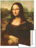 Mona Lisa, La Gioconda Wood Print by  Leonardo da Vinci
