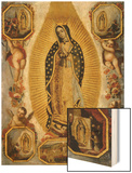 La Virgen de Guadalupe, 18th Century, Mexican School Prints