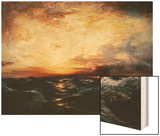 Pacific Sunset Posters by Thomas Moran