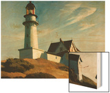 Lighthouse at Two Lights Posters by Hopper Edward
