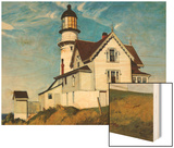Captain Upton's House Prints by Hopper Edward