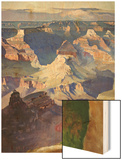 Grand Canyon Wood Print by Gunnar Widforss