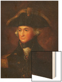 A Portrait of Horatio, Lord Nelson (1758-1805) Wood Print by Lemuel Francis Abbott (Follower of)