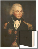 Horatio Nelson Wood Print by Lemuel Francis Abbott