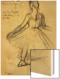 Danseuse Posters by Degas Edgar