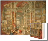 Picture Gallery with Views of Modern Rome Prints by Giovanni Paolo Panini