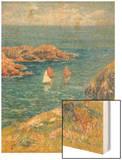 Ouessant, Jour de Calme, 1905 Wood Print by Henry Moret