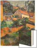 Turning Road at Montgeroult Wood Sign by Cézanne Paul