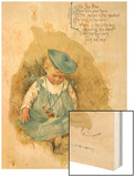 Little Boy Blue Wood Print by Maud Humphrey