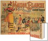 La Maison Blanche, circa 1900 Posters