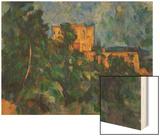 Chateau Noir Wood Sign by Cézanne Paul