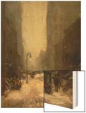 Snow in New York, 1902 Prints by Robert Henri