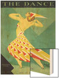 The Dance, Albertina Vitak, 1929, USA Wood Print
