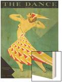 The Dance, Albertina Vitak, 1929, USA Wood Print
