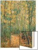 Sous-Bois, 1876 Wood Print by Monet Claude