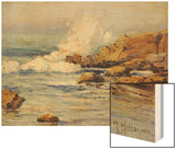 Summer Sea, Laguna Beach, 1915 Wood Print by Anna A. Hills