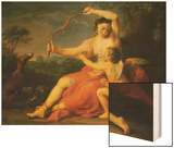 Diana Breaking Cupid's Bow Prints by Pompeo Batoni