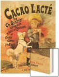 Cacao Lacte de Ch. Gravier Superieur Poster