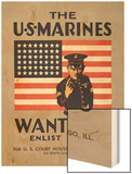 The U.S. Marines Want You Art
