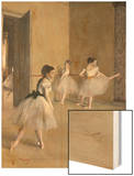 Ballet Room at the Opera in Rue le Peletier, c.1872 Prints by Degas Edgar