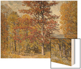 Early Autumn Wood Print by John Joseph Enneking