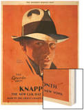 Knapp-Felt, Magazine Advertisement, USA, 1920 Wood Print