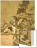 The Sleep of Reason Produces Monsters Prints by Francisco de Goya