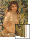 Study: Torso, Effect of Sunlight Wood Sign by Renoir Pierre-Auguste