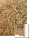 Design for Chintz: Rose Wood Print by William Morris