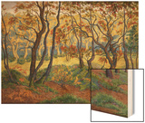 The Clearing Wood Print by Paul Ranson