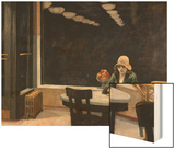 Automat Wood Print by Hopper Edward