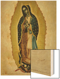 The Virgin of Guadaloupe, 1766 Wood Print by Miguel Cabrera