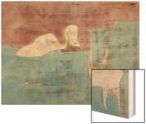 The Friendship; Tier Freundschaft Wood Print by Paul Klee