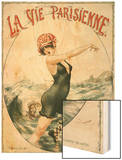 La Vie Parisienne, Cheri Herouard, 1919, France Wood Print